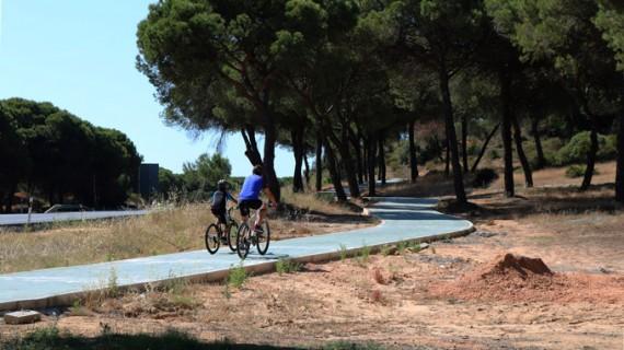 El carril bici entre Cartaya y El Rompido estará listo a finales de julio