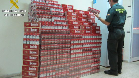 Desarticulada una banda que vendía tabaco de contrabando a través de internet y lo distribuía por mensajería
