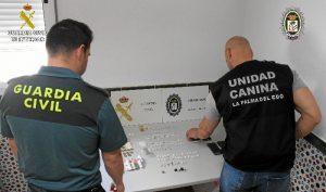 Operación desarrollada por la Guardia Civil y la Policía Local de La Palma del Condado.