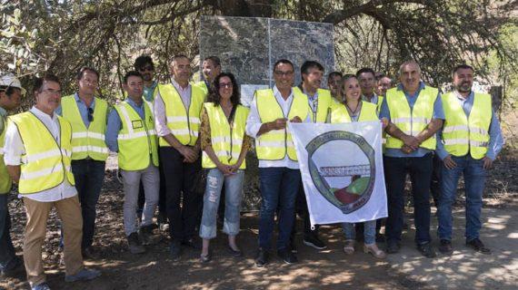 Inician los trabajos del tramo entre las estaciones de Los Frailes y Berrocal del Camino Natural del Río Tinto