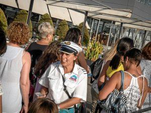 Los entradas pueden adquirirse desde una hora antes en el Muelle de Levante.
