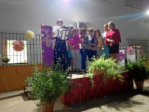 Directiva de la asociación de mujeres Flor de Jara de Villarrasa.
