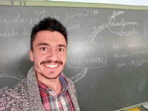 El maestro onubense Jonatan Cárdenas.