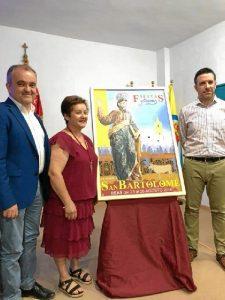 Presentado el cartel anunciador de las Fiestas y Capeas en Honor de San Bartolomé 2018.
