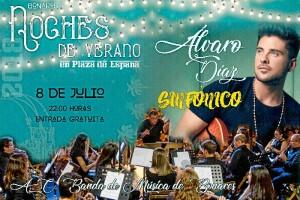 Álvaro Díaz ofrece un concierto sinfónico el próximo domingo, 8 de julio.