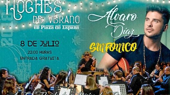 La Plaza de España de Bonares se llena de música un año más en sus 'Noches de Verano'