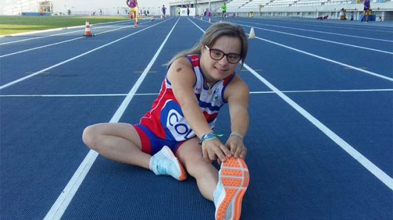 La atleta del CODA Blanca Betanzos ultima su preparación para el Campeonato de Europa de Atletismo