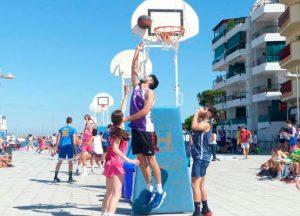 Deporte y diversión asegurados en el Circuito Provincial 3x3 de baloncesto en Punta Umbría.