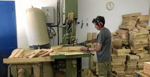 Desde lASPROMIN proveen a MATSA de un servicio de carpintería a través ASPROMIN Industrial SL.