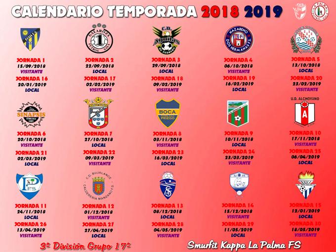 Calendario Tercera Division.Smurfit Kappa Conoce Su Calendario De Tercera Division