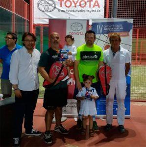 Antonio de la Corte y Juan Antonio Moreno, ganadores en la categoría Absoluta masculina 1ª.