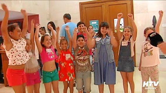 115 niños de toda Andalucía acuden al casting de 'Tierra Infancia'