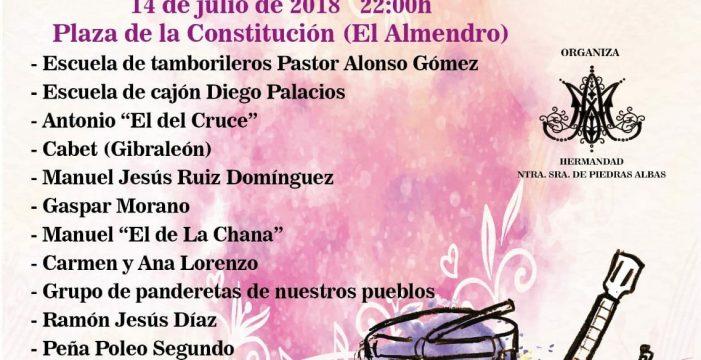 El Almendro acoge una velada musical a beneficio de la Hermandad de Nuestra Señora de Piedras Albas