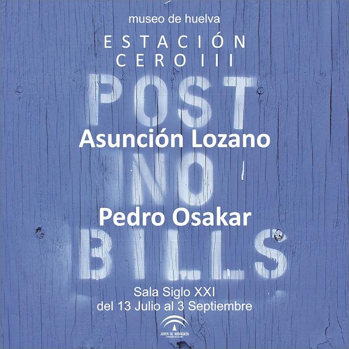 La muestra 'Post no bills' llega al Museo de Huelva en la tercera edición de 'Estación Cero'