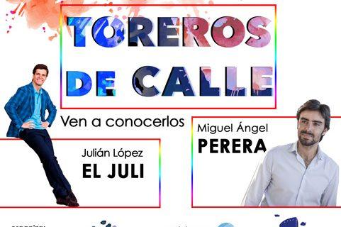'El Juli' y Miguel Ángel Perera protagonizan un encuentro con aficionados en el Paseo de la Ría de Huelva