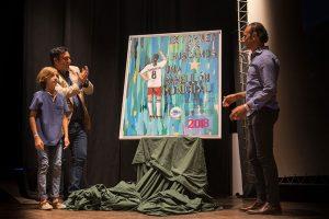 Un momento del acto de presentación del cartel del torneo que tendrá lugar en Ayamonte.