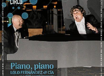 Vuelve el teatro circo a Valverde del Camino de la mano de 'Piano, Piano'