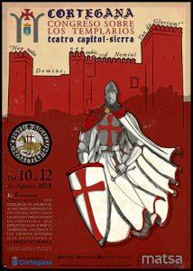 El Congreso Nacional sobre los Templarios de Cortegana se celebrará del 10 al 12 de agosto.