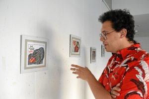 Jesús Ricca expone en Punta Umbría.