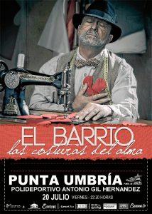 El Barrio traerá a Punta Umbría su nuevo disco 'Las costuras del alma' mañana viernes.