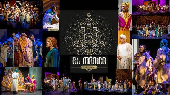 El Liceo de Moguer y un elenco de 40 actores interpretan en el Foro 'El Médico', basado en la obra Noah Gordon