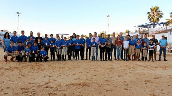 La Escuela Municipal de Equitación de Puebla de Guzmán cierra el curso con una exhibición hípica