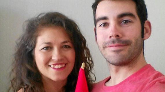 Jéssica y Juan, una joven pareja de Huelva que el destino ha llevado a Noruega