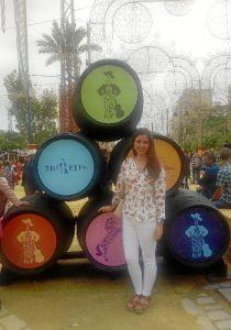 Verónica aspira a conseguir una plaza fija, a ser posible en Huelva, cerca de su familia y pareja.