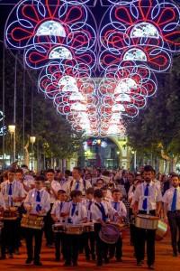 Alumbrado de la Feria de San Pedro.