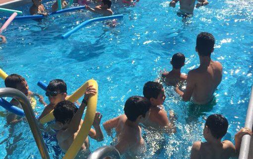 240 niños y mayores de Paterna del Campo se mantienen activos en las Escuelas Deportivas de Verano