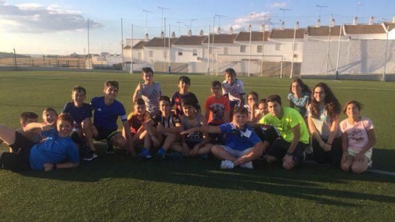 El deporte, muy presente en los veranos de Paterna del Campo