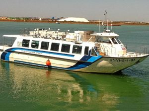 Catamarán 'Punta del Sebo'.