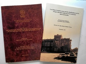 Algunas de las publicaciones en las que ha participado la onubense.