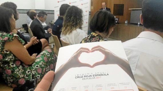 Cruz Roja Huelva incrementa sus servicios bajo el lema 'Cada vez más cerca de las personas'