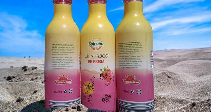 La fresa de Huelva llega al mercado de verano en forma de limonada