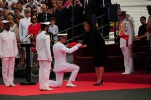 Fátima Báñez ha ejercido de madrina del acto.
