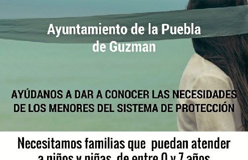 La Puebla de Guzmán y la Asociación Alcores hacen un llamamiento a la búsqueda de familias de acogida