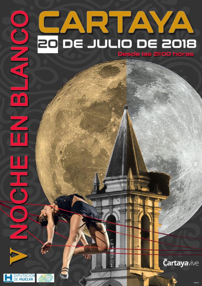 130 artistas y 50 pases de espectáculos culturales, cifras de la V Noche en Blanco de Cartaya