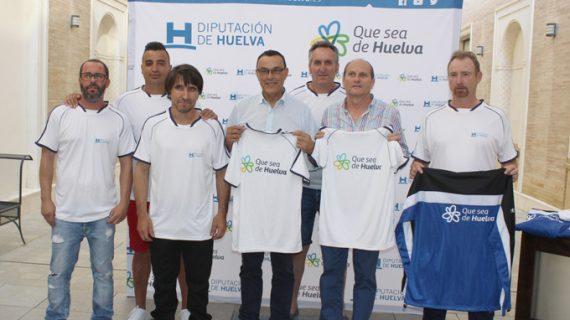 Entregan material deportivo al equipo de Fútbol Sala de la ONCE