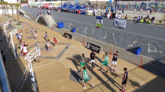 Más de 500 jugadores participaron en el Circuito Provincial 3×3 de Baloncesto en Islantilla y La Antilla