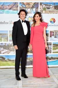 Poty y Paloma Lago fueron los presentadores de la gala.