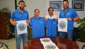 Un momento de la presentación del X Campus Álex Burgos de baloncesto que se celebrará en Punta Umbría.