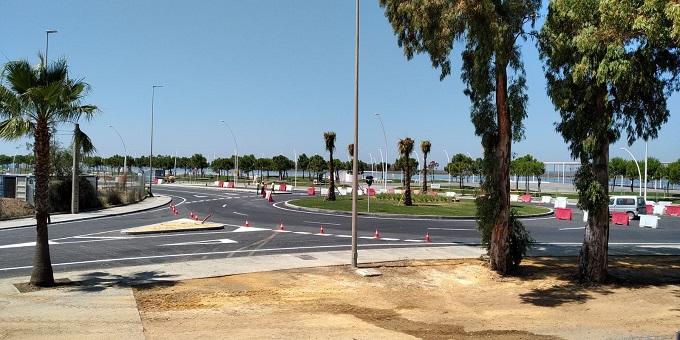 El Puerto de Huelva genera 990 empleos en las obras que realiza en el primer semestre