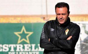 José María Salmerón, nuevo entrenador del Recreativo de Huelva. / Foto: La Verdad de Murcia.