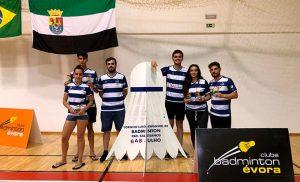 Representantes del Recre IES La Orden en el torneo celebrado en Évora.