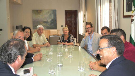 Muestran la provincia de Huelva a un grupo inversor belga atraído por la industria agroalimentaria onubense