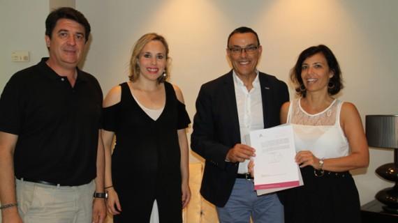 El Colegio de Arquitectos de Huelva se adhiere al Pacto por el AVE