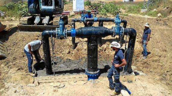 La Comunidad de Regantes de Palos de la Frontera acomete obras de mantenimiento en sus instalaciones