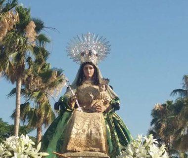Beas se prepara para la romería de la Virgen de Clarines
