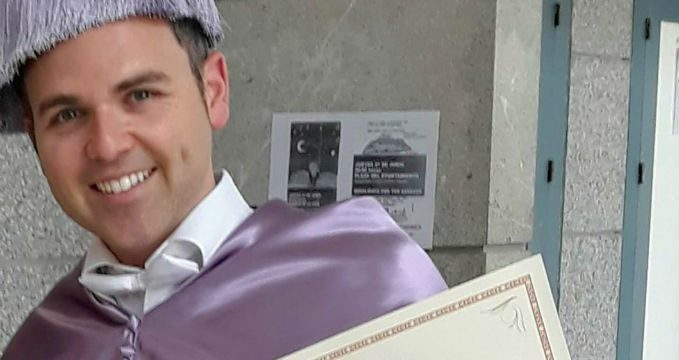 La tesis sobre la enseñanza virtual del psicólogo bollullero Pablo Maraver logra el Premio Extraordinario de Doctorado
